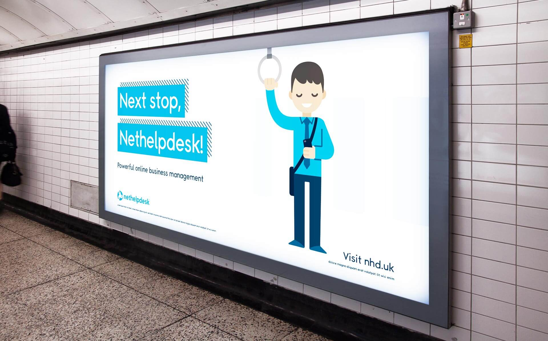 NH Underground Advert