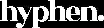 Hyphen Logo White
